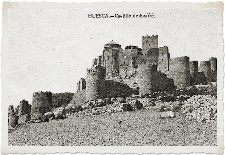Postal del Castillo de Loarre