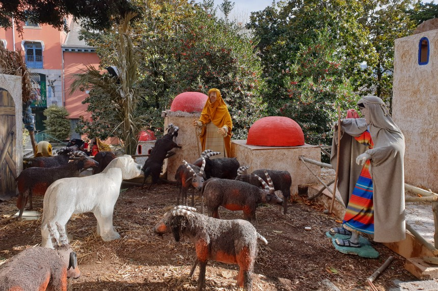 pastores del Belén del Escorial