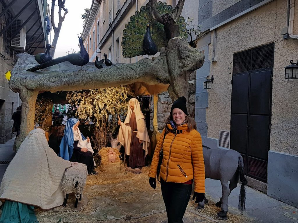 portal en Belen del Escorial