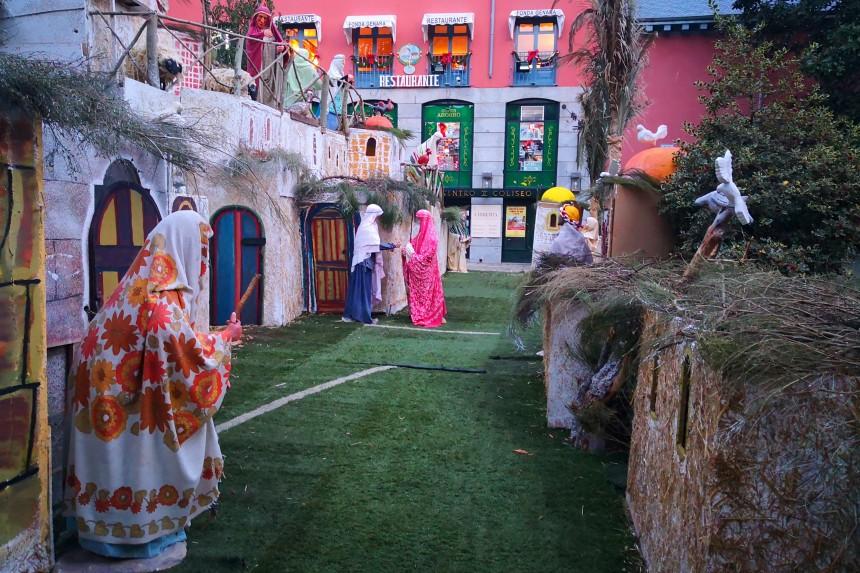 Pueblo de Belen en San Lorenzo de El Escorial