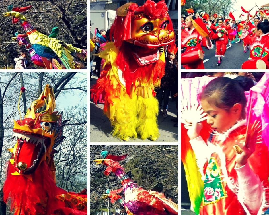 Pasacalles del año nuevo chino