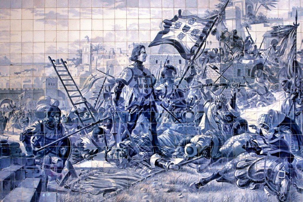 Enrique el Navegante conquista Ceuta
