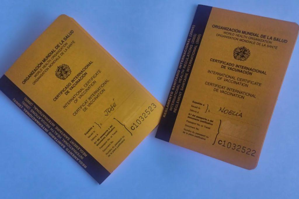 Certificado Internacional de Vacunación