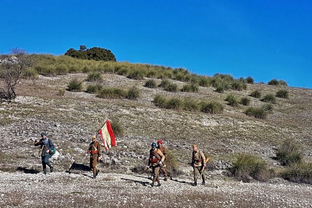 Recreación de la Batalla del Jarama