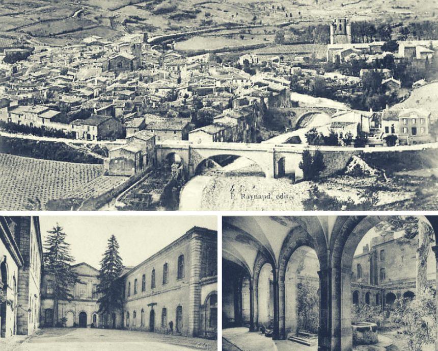 Fotografías en blanco y negro de Lagrasse
