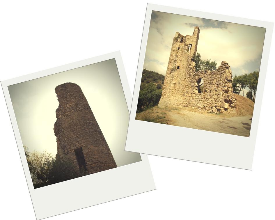 Restos de la Torre de Honor y Fortaleza de Lagrasse