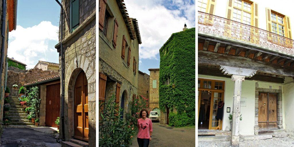 Calles y edificios medievales de Lagrasse
