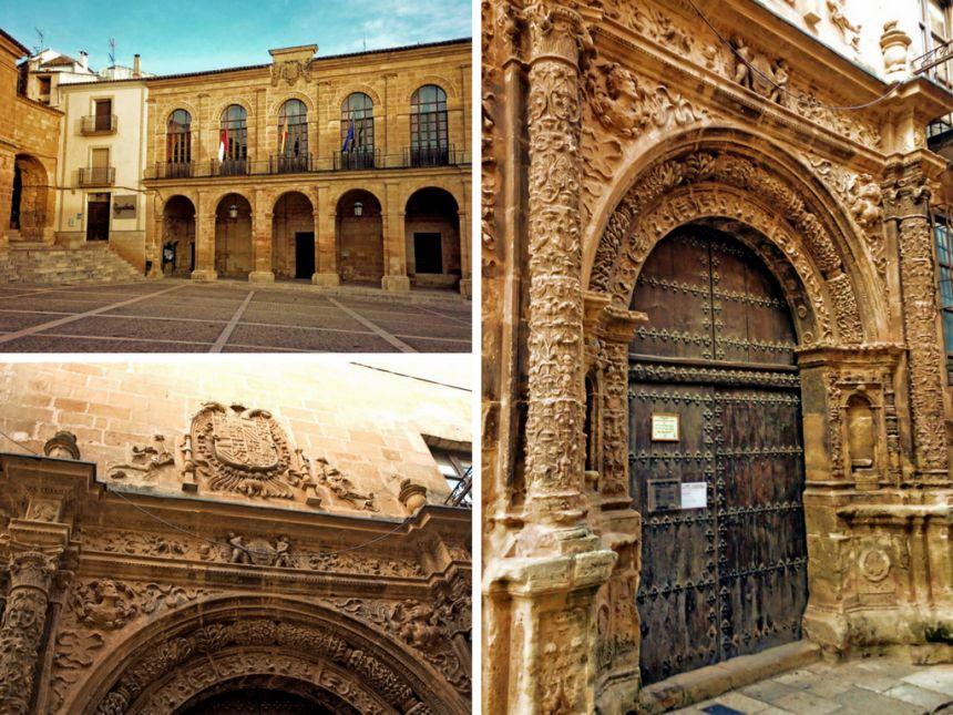 Lonja Alhorí y Ayuntamiento de Alacaraz