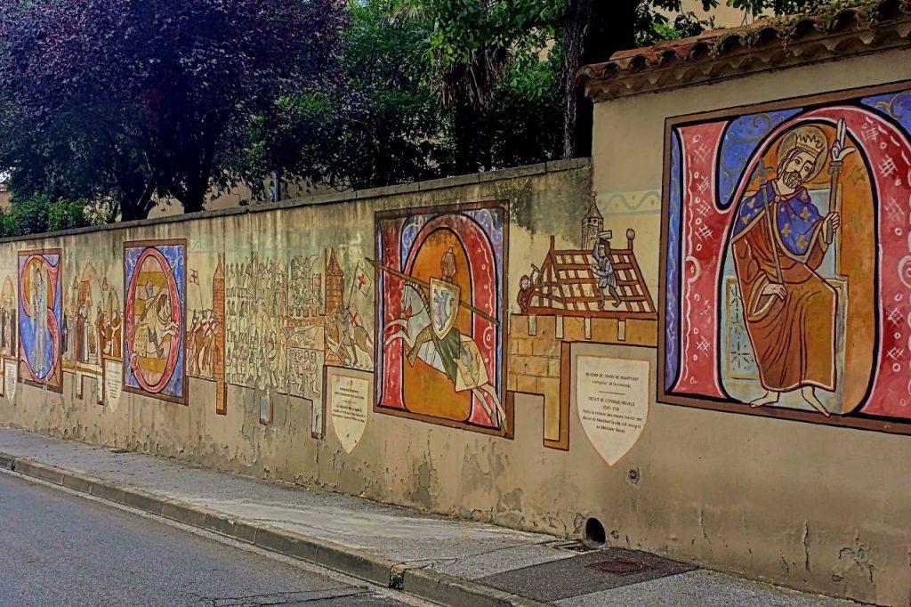 Rue Trivalle en Carcassonne