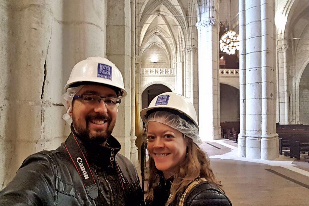Catedral de Santa María de Vitoria abierta por obras