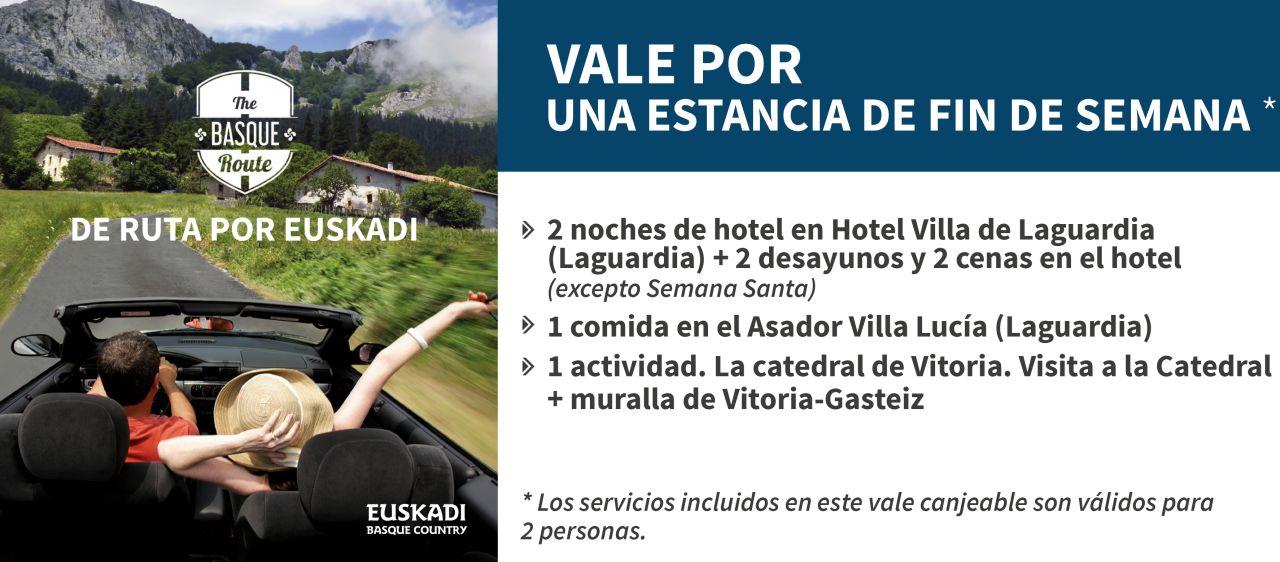 Visita al coraz n de la rioja alavesa mapa y mochila for Oficina turismo laguardia