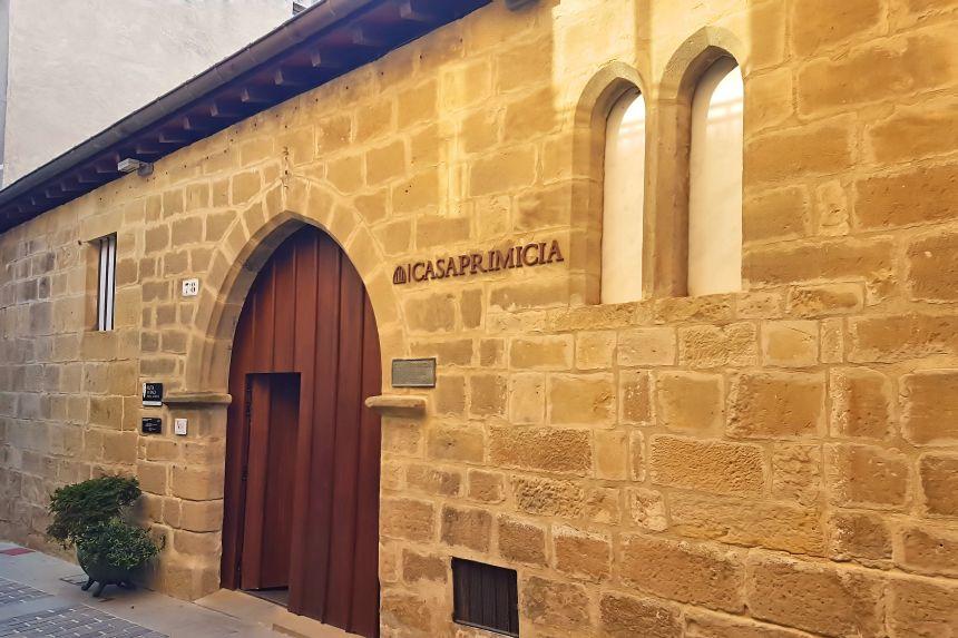 Entrada Bodegas Casa Primicia