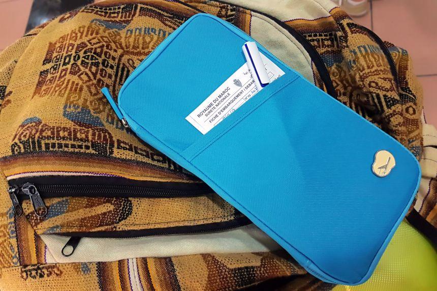 Formulario de entrada para viajar a Marruecos