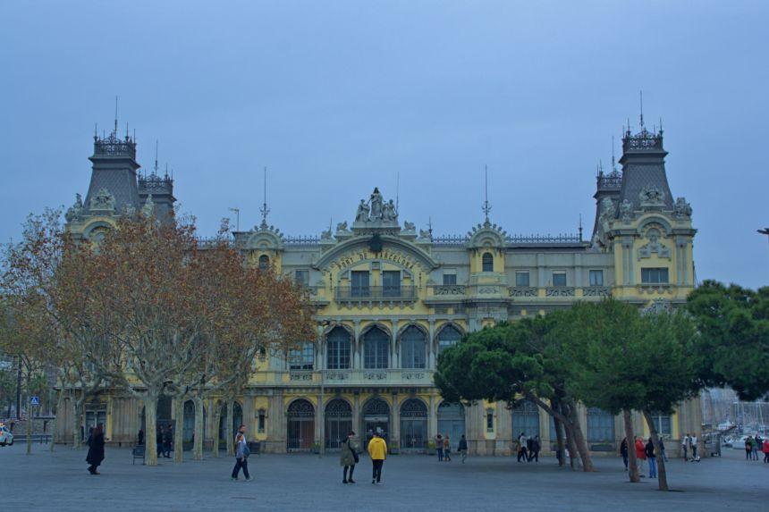 Sede de la Autoridad Portuaria de Barcelona