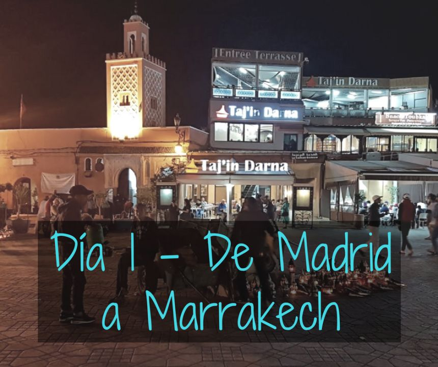 Vuelo de Madrid a Marrakech