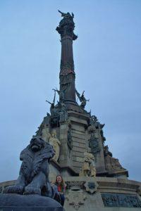 Leones del Monumento a Colón