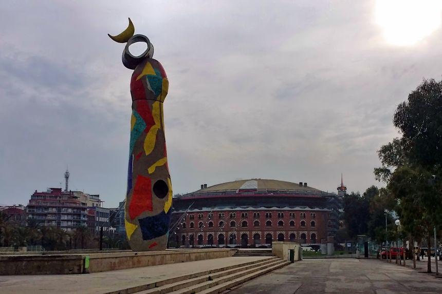 Prque Joan Miró y Arenas de Barcelona
