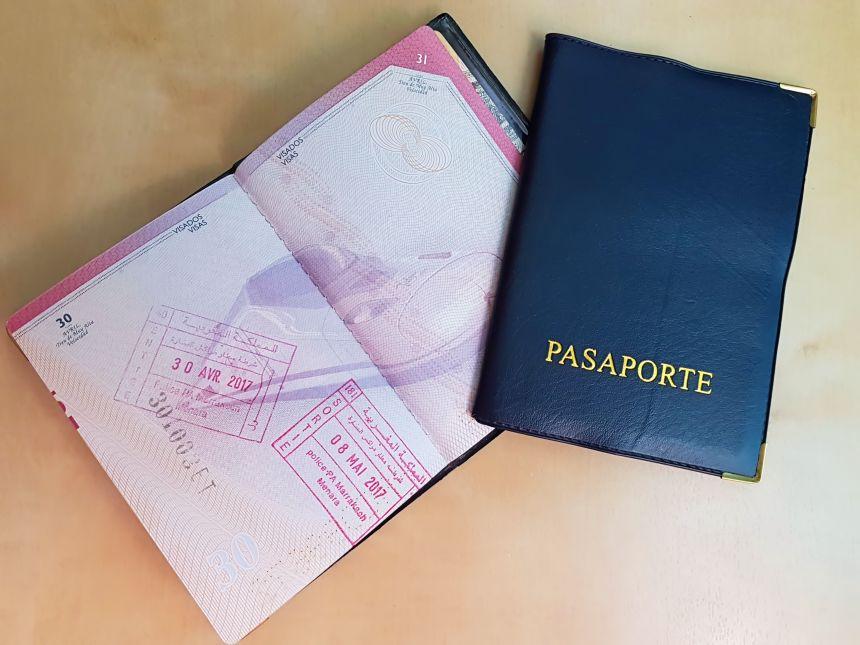 Pasaporte sellado