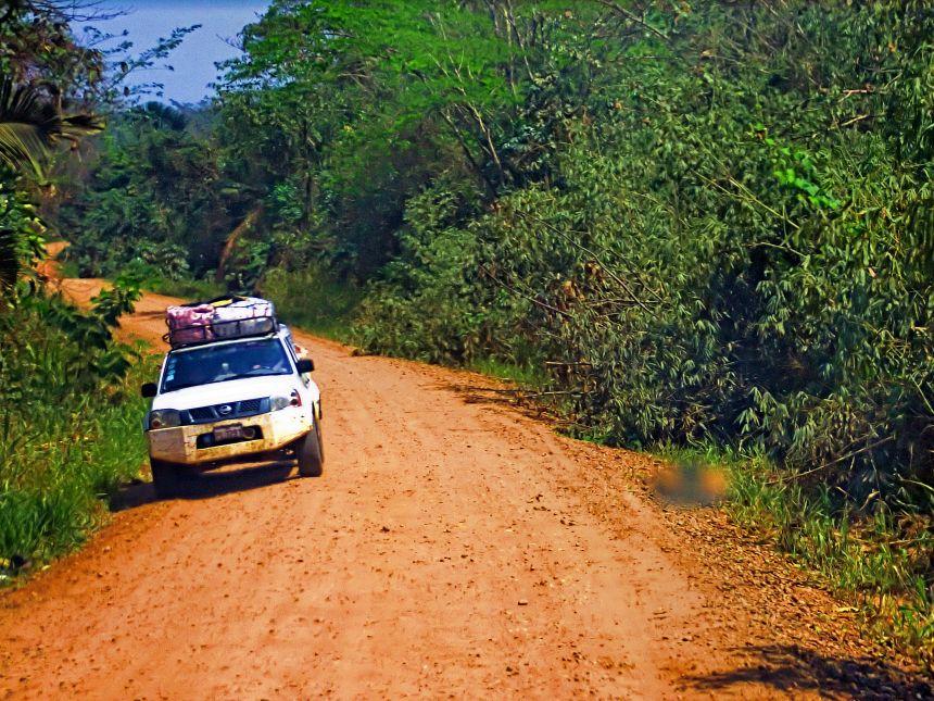 rumbo a la selva peruana