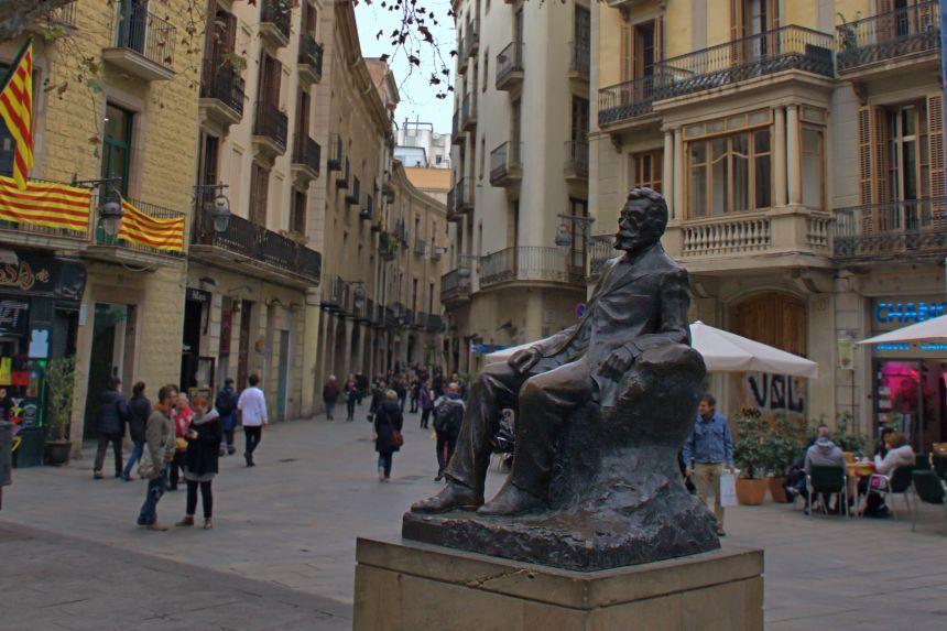 Escultura de Ángel Guimerá