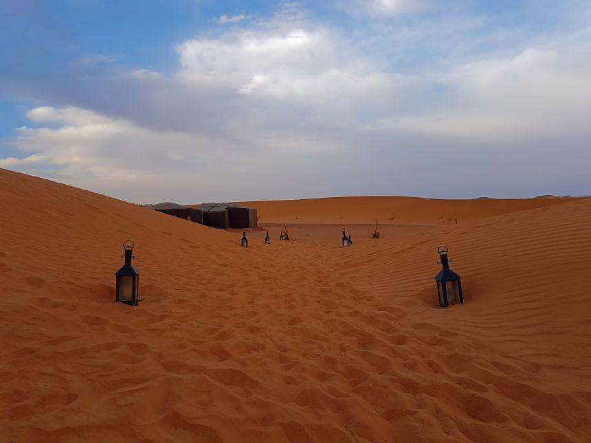 Rumbo al desierto de Merzouga