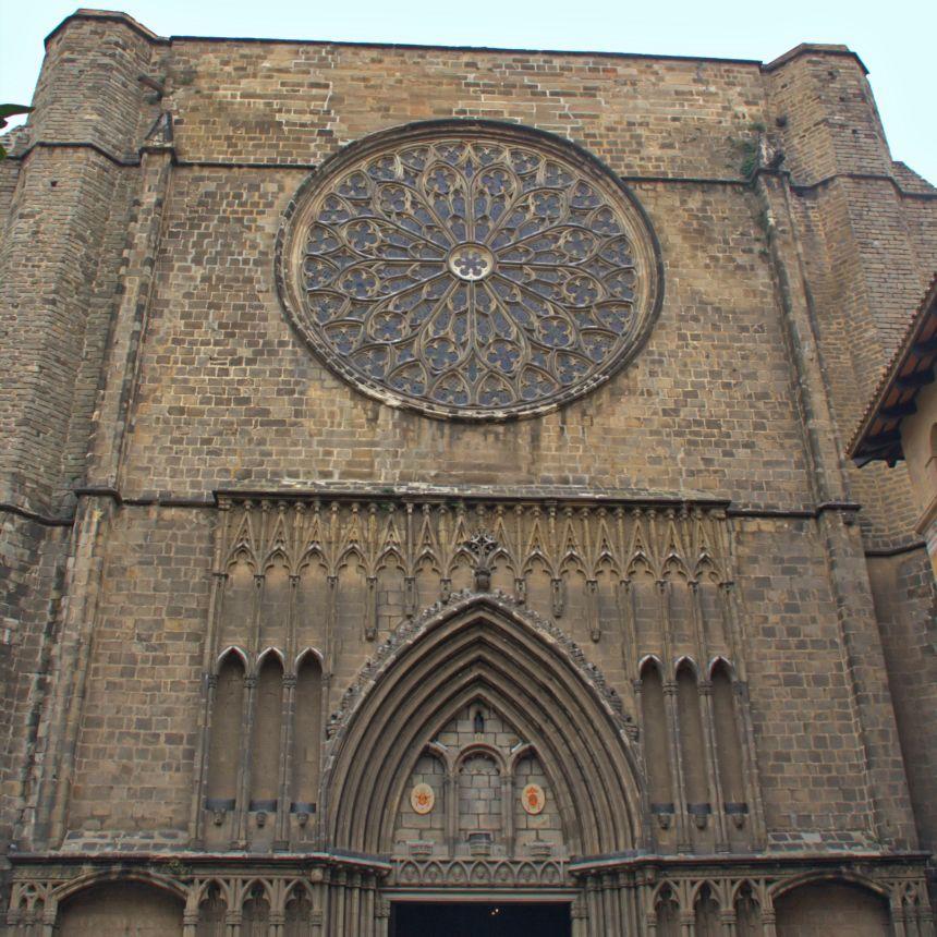 Portada de Santa María del Pi