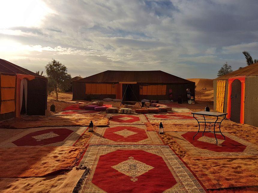 campamento de jaimas