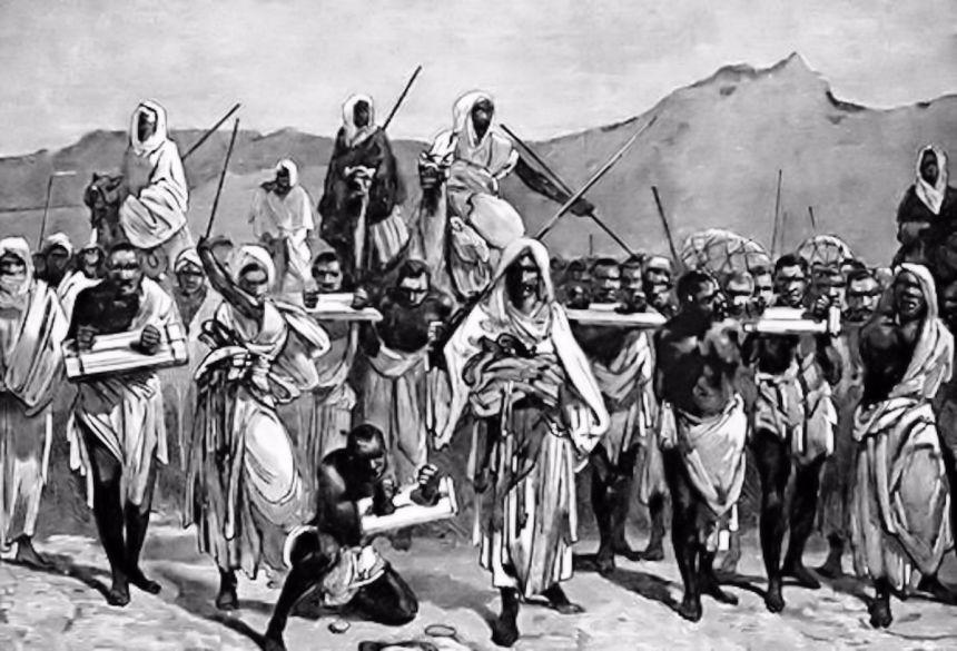 Comerciantes árabes de esclavos