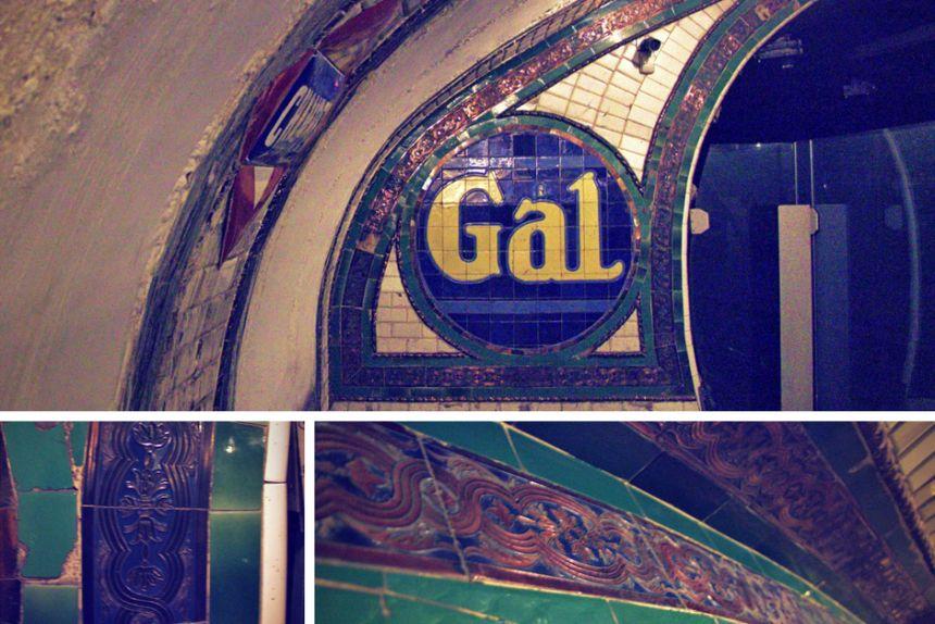 Azulejos de la Estación de Chamberí