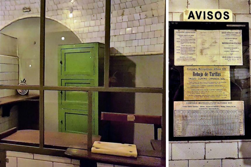 Taquillas y precios de la estación de Chamberí