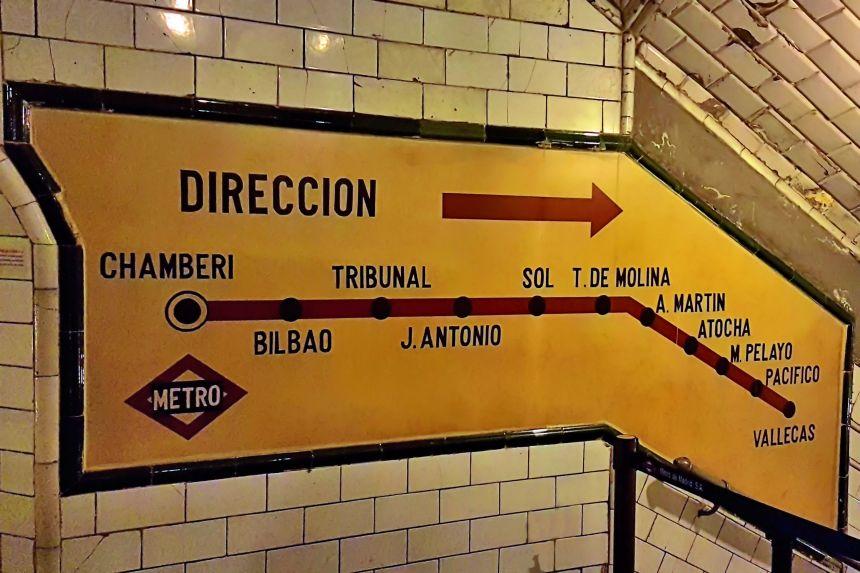 Linea 1 de Metro en 1966