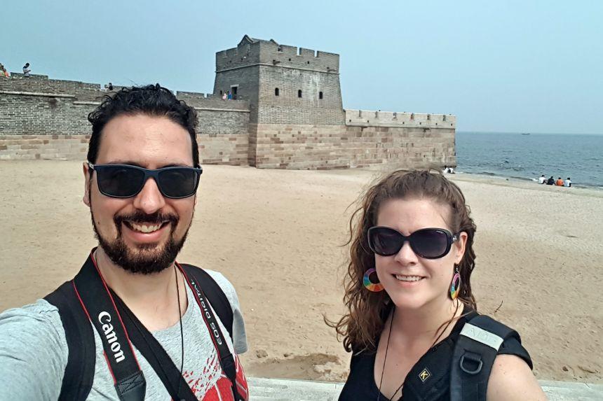muralla China de Laolongtou