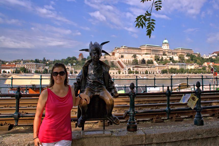 Estatua de la princesita (Duende del Danubio)