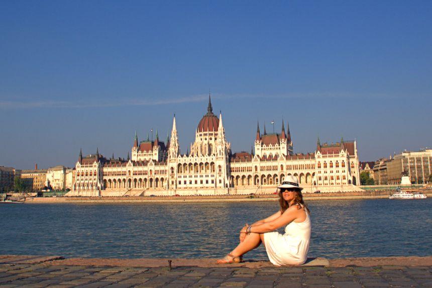 Parlamento de Budapest desde Buda