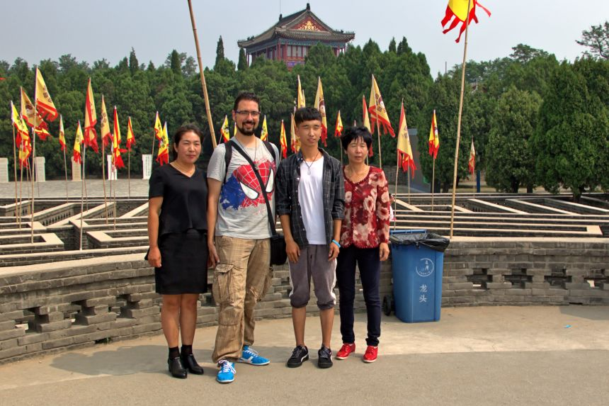 Foto con mongoles