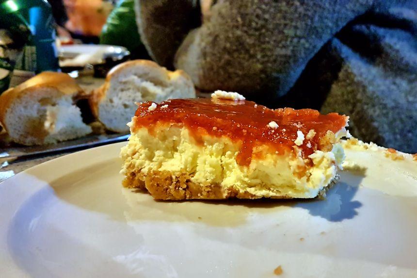 Tarta de queso con membrillo Santa Teresa
