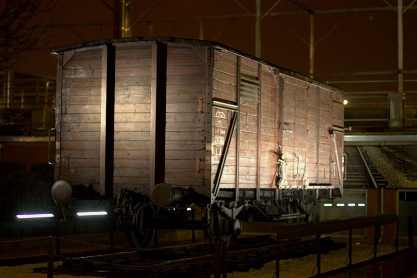 vagón de deportación