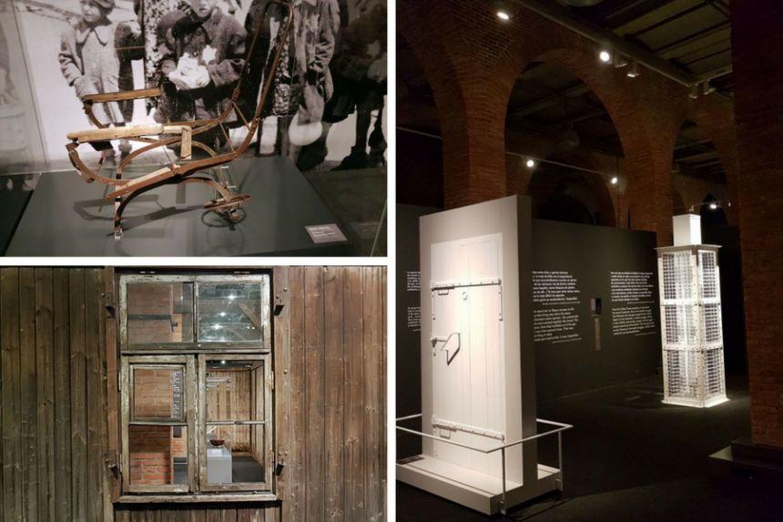 Objetos de la Exposición Auschwitz
