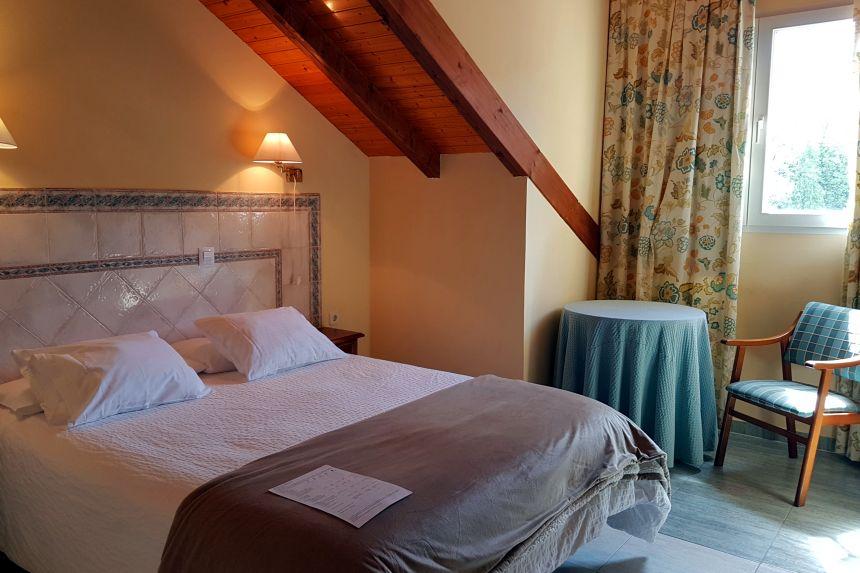 Habitación del Hotel Balneario de Alceda