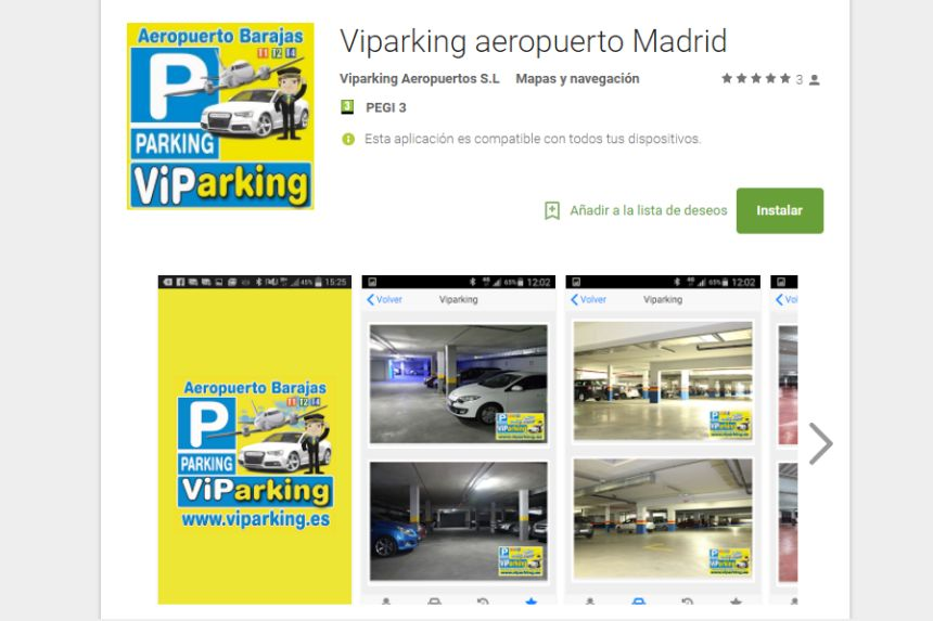Viparking app