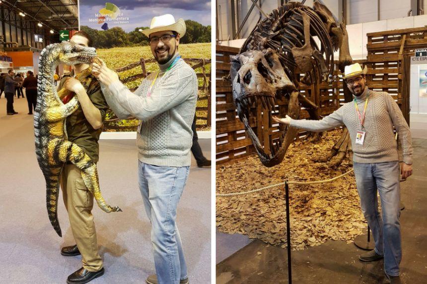Dinosaurios en FITUR 2018