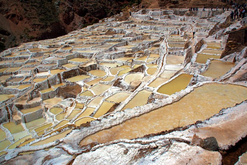 Minas de Sal de Maras en Cusco