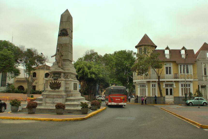 Autobús urbano en Lima