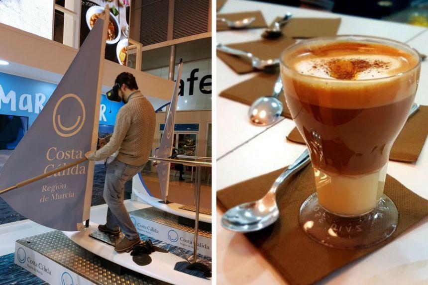 Café asiático y windsurf en Murcia
