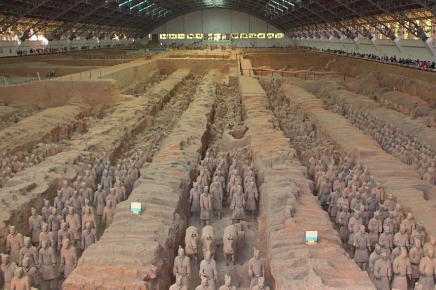 mapaymochila 2017 - Guerreros de terracota de Xi'an