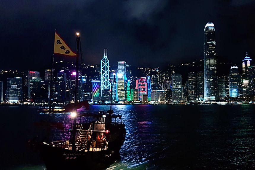 mapa y mochila 2017 - Hong Kong