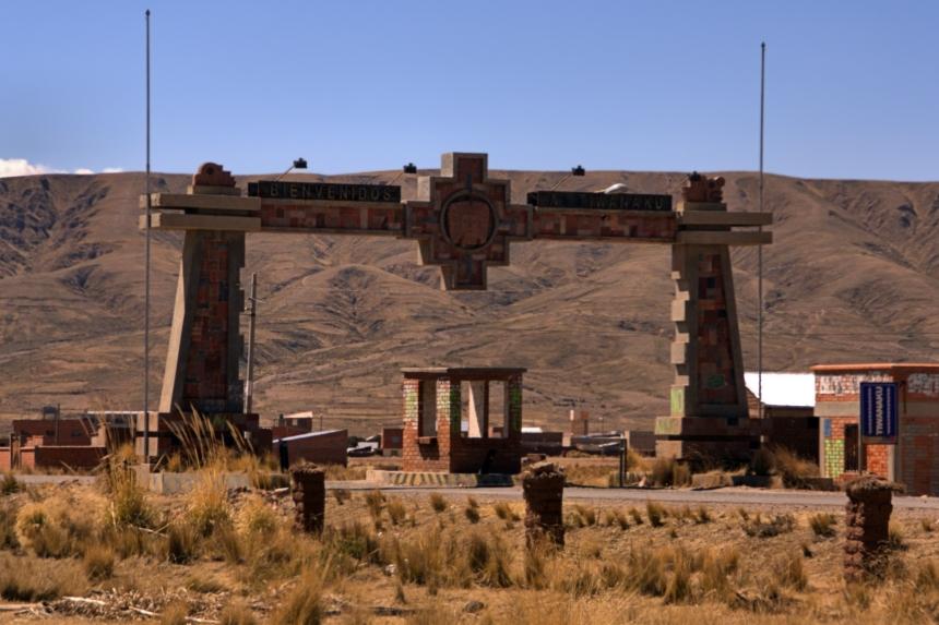 Bienvenidos a Tiwanaku