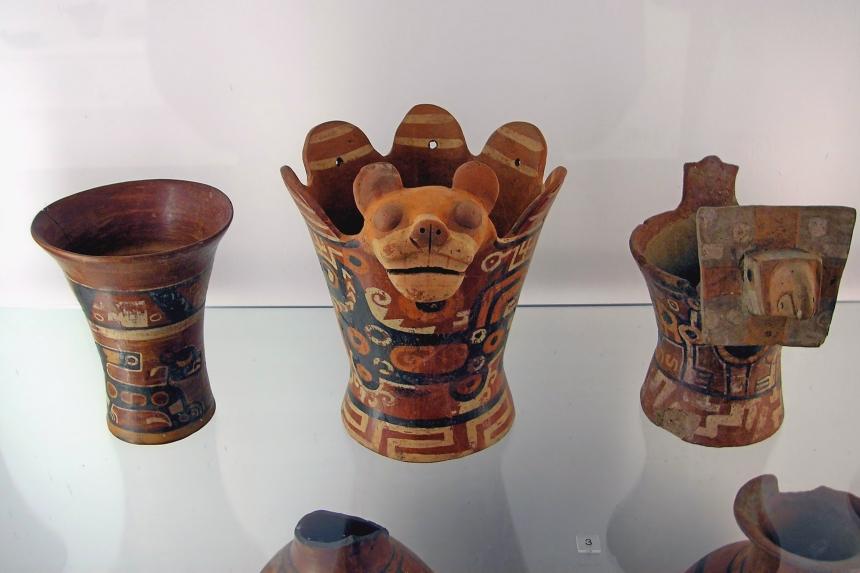 Cerámica tiahuanacota en el Museo Etnográfico de Berlín