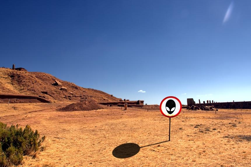 Extraterrestres en Tiwanaku