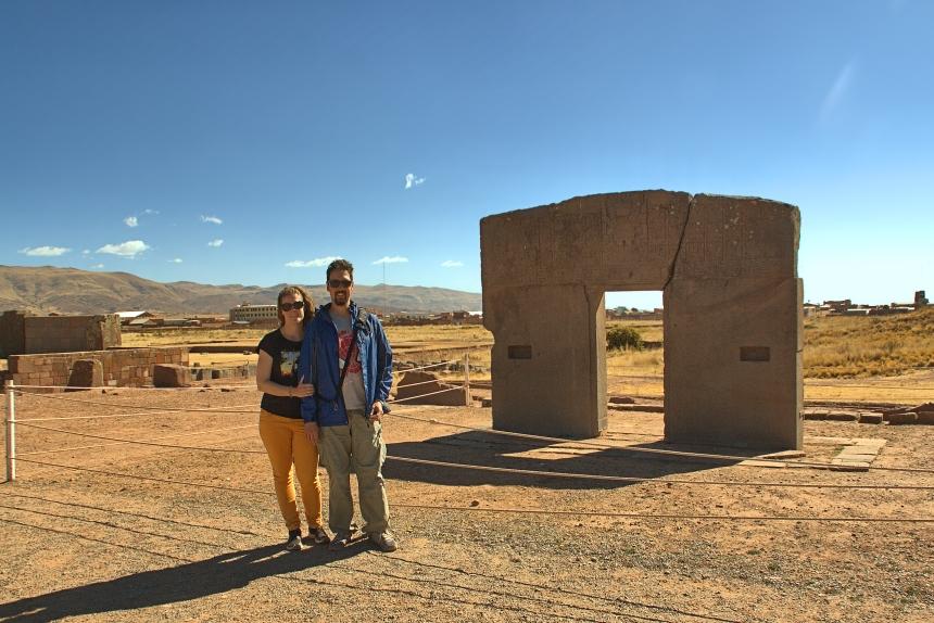 Puerta del Sol en Tiwanaku